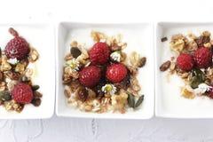 Fruity muesli Stock Image