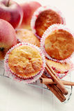 Fruity muffins Royalty Free Stock Photography
