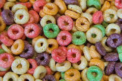 Fruity Oat Cereal Royalty Free Stock Photos