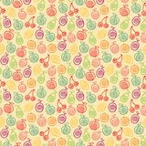 Fruity pattern Royalty Free Stock Photos