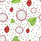 Fruity pattern on a colored backgroundBasic RGB Stock Photo