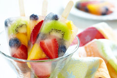 Free Fruity Popsicle Sticks Royalty Free Stock Photography - 31204107