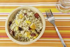 fruity quinoa σαλάτα Στοκ εικόνα με δικαίωμα ελεύθερης χρήσης