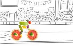 Fruity race. Stock Photo