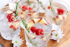 Fruity refreshment drinks Stock Images