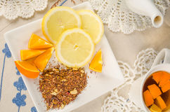 Fruity rooibos stock images