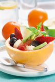 Fruity salad. Picture of tasty fruity salad. shallow dof Royalty Free Stock Photo