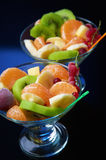 Fruity salad Royalty Free Stock Images