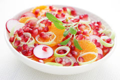 Fruity salad Stock Image