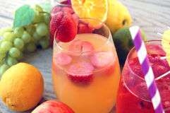 Fruity Sangria ананаса Стоковое фото RF