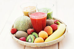 Fruity shake Royalty Free Stock Image