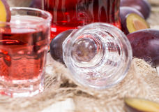Fruity Shots Royalty Free Stock Images