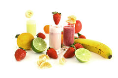 Fruity smoothie Stock Image