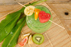 Fruity smoothie Royalty Free Stock Images
