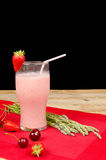 Fruity smoothie Stock Images