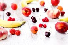 Fruity smoothie Stock Photos