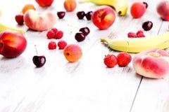 Fruity smoothie Stock Photo