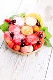 Fruity smoothie Stock Image