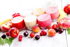 Fruity smoothie Royalty Free Stock Photography