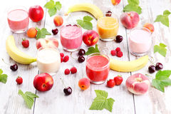 Fruity smoothie Stock Photography