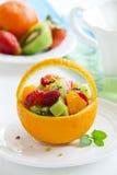 Fruity summer salad Stock Image