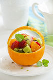 Fruity summer salad Royalty Free Stock Photography