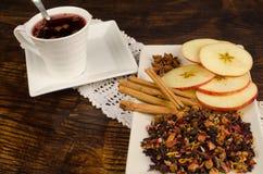 Fruity tea royalty free stock image