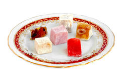 Fruity Turkish Delights Royalty Free Stock Photo