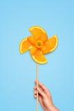 Fruity windmill. Royalty Free Stock Photo