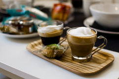 Frukostögonblick Italien royaltyfri foto