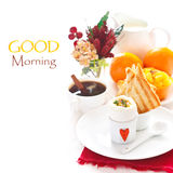 Frukost. Royaltyfria Bilder