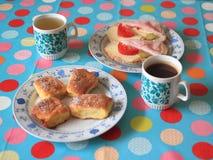 Frukost royaltyfria bilder