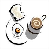 frukost Vektor Illustrationer