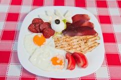 frukost Royaltyfri Fotografi