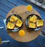 Frukost av mästare Arkivfoto