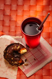 Frukost efter sömn Royaltyfri Fotografi