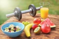 Frukost efter sporten arkivfoton