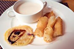 Frukost för traditionell kines royaltyfria bilder