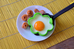 Frukost för ungar arkivbilder