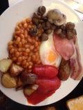 Frukost i England Arkivfoton