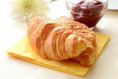 Frukost i Frankrike Royaltyfri Fotografi