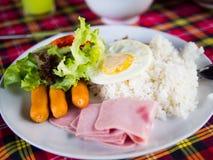Frukost i morgonen Royaltyfri Bild