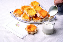 Frukost i Sardegna Royaltyfria Foton