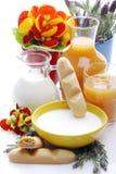 Frukost i vår Royaltyfria Foton