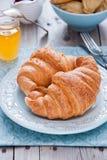 Frukost med giffel Fotografering för Bildbyråer