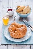 Frukost med giffel Royaltyfria Bilder