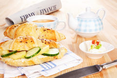 frukostaffär Royaltyfri Foto