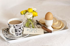 frukostdagmamma royaltyfria bilder