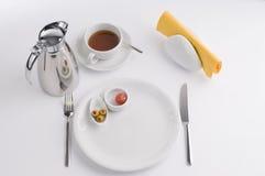 Frukosten bordlägger arkivfoton