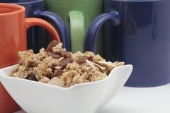 Frukosten rånar med sädesslag Arkivbild